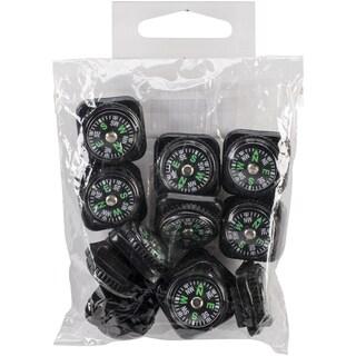 Paracord Compass Pack 12/Pkg-Black
