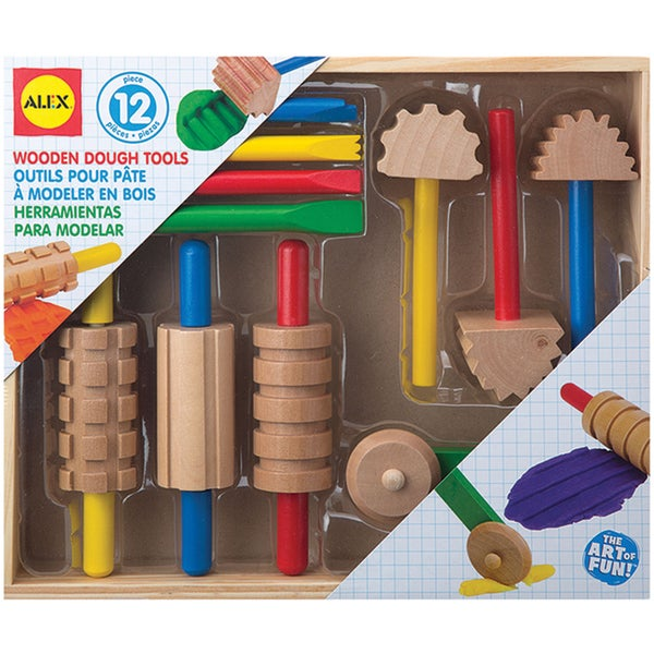 Wooden Dough Tool Set
