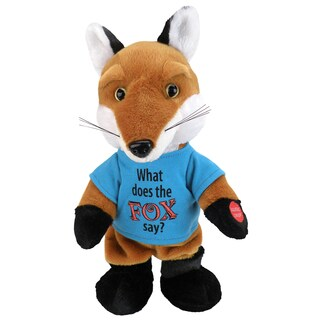 Chantilly Lane What Does The Fox Say Singing Doll
