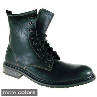 Mens Polar Fox Calf High Military Boots