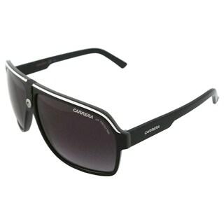 Carrera Unisex '33/S 8V69O' Black/ Crystal Grey Fashion Sunglasses