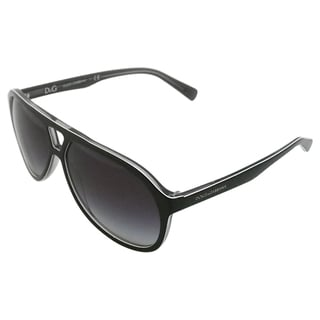 Dolce & Gabbana Women's 'DG 4169 2631/8G' Top Black Aviator Sunglasses