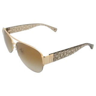 Coach Addison HC7042 91806E Women's Gold Sunglasses