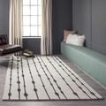Cosmopolitan Vines Grey Hand-tufted Wool Rug (8' x 10')