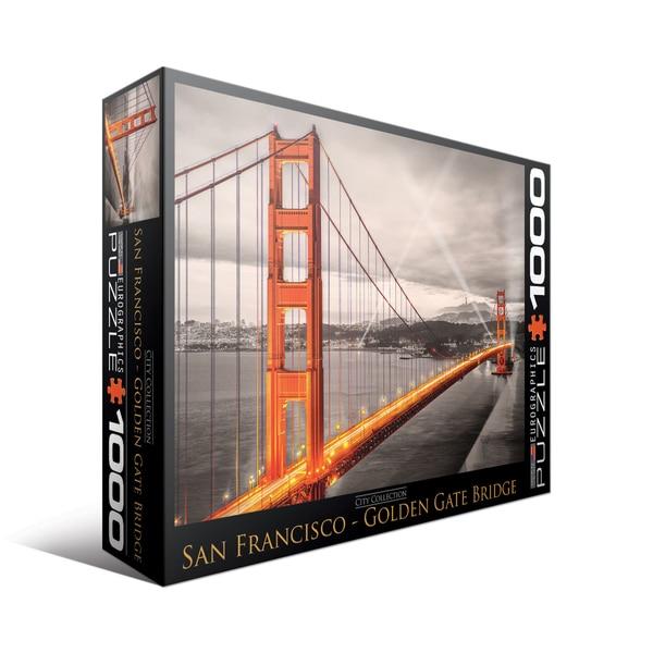City Collection San Francisco Golden Gate Bridge 1000-piece Puzzle