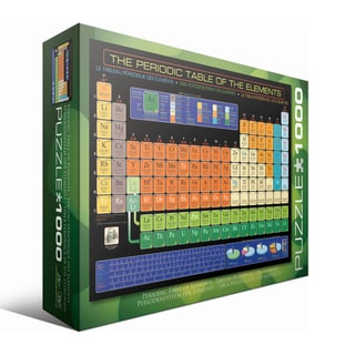 The Periodic Table of the Elements 1000-piece Puzzle