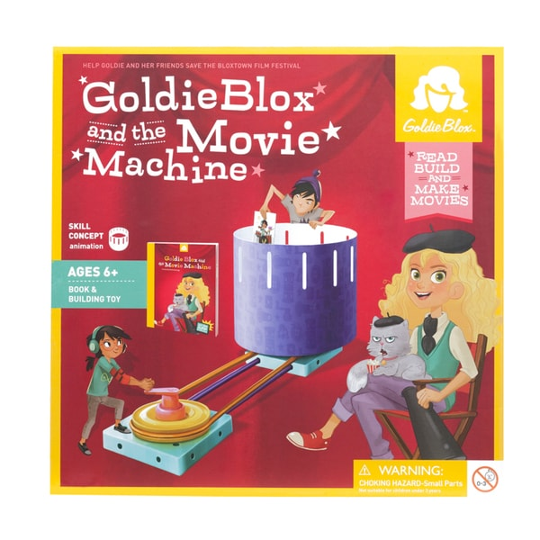 GoldieBlox and the Movie Machine Interactive Book