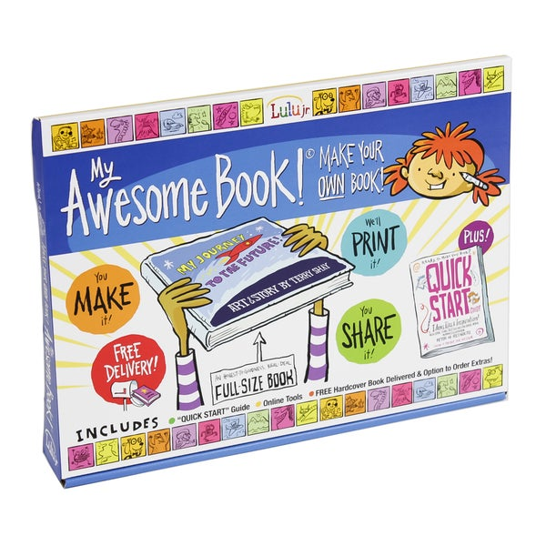 My Awesome Book Make Your Own Book Kit