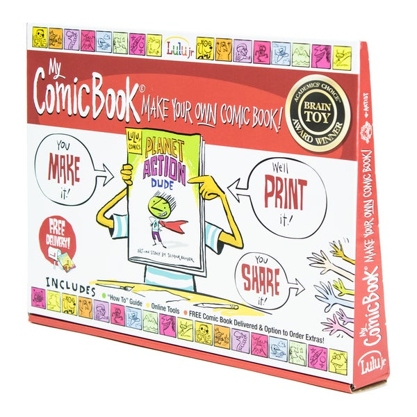 My Comic Book Make Your Own Comic Book Kit
