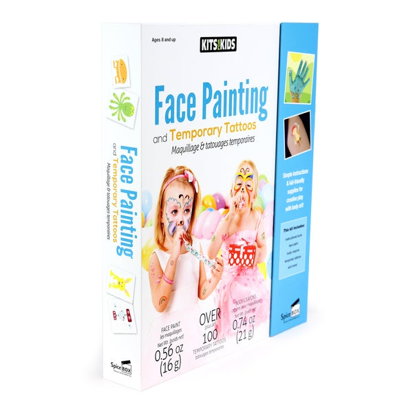 Face Painting and Temporary Tattoo Kit