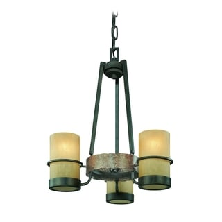 Troy Lighting Bamboo 3-light Chandelier