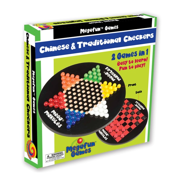 Chinese and Traditional Checkers 14429178