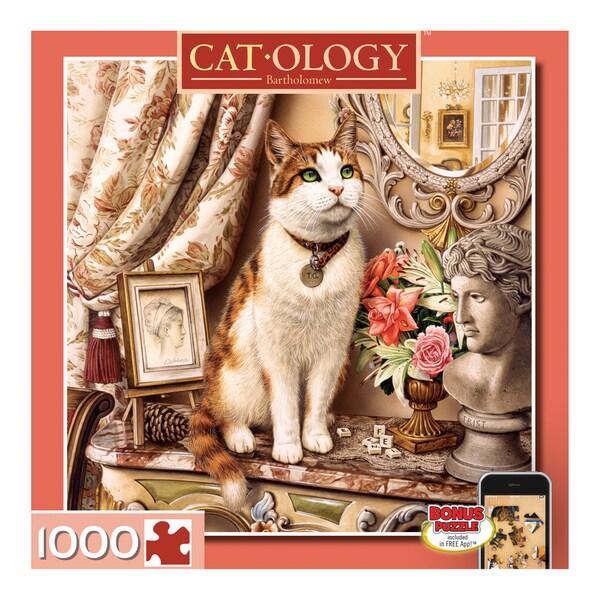 Cat-o-logy Bartholomew 1000-piece Puzzle