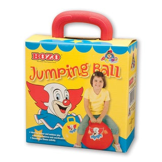 Bozo 18-inch Red Jumping Ball