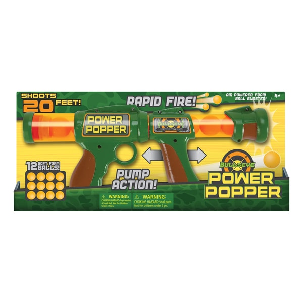 BullsEye Power Popper Soft Ball Gun