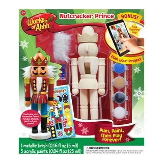 Works of Ahhh... Nutcracker Prince Wood Painting Kit