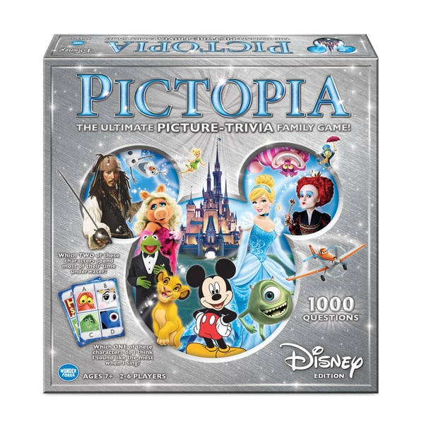 Disney Pictopia Family Trivia Game