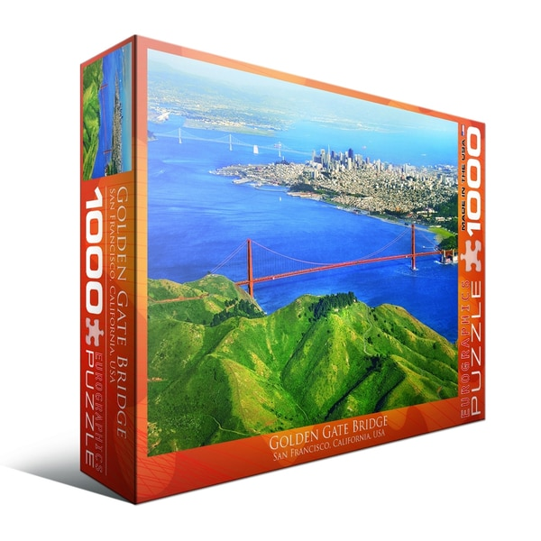 Golden Gate Bridge, San Francisco, California, USA 1000-piece Puzzle