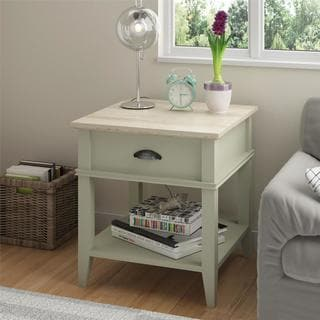 Altra Laguna Oak Beach Sand End Table