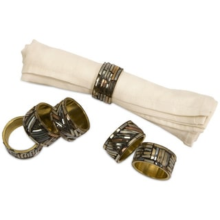 Prestige Napkin Rings (Set of 6)