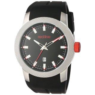 Red Line Men's RL-10016-01 Gauge Black Watch