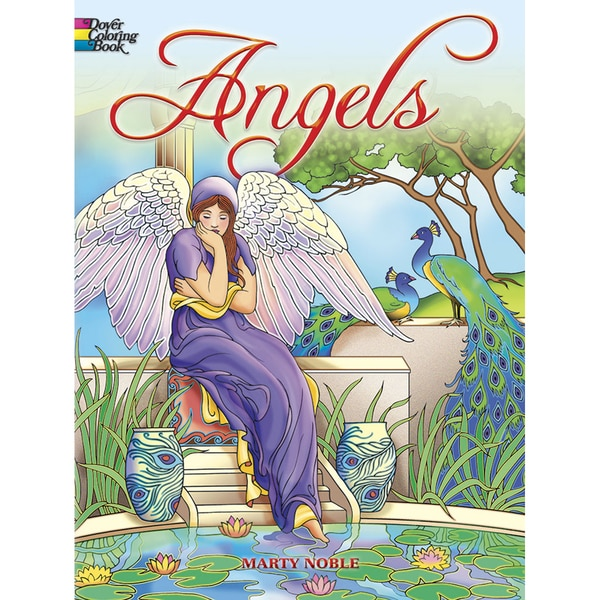 Dover Publications-Angels Coloring Book