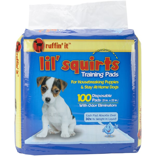 Lil' Squirts Training Pads 100/Pkg