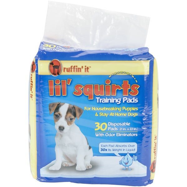 Lil' Squirt Training Pads 30/Pkg