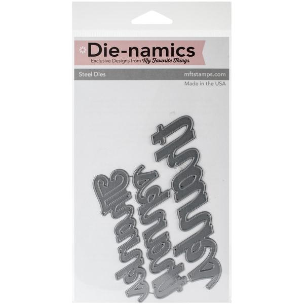Die-Namics Dies-Many Thanks