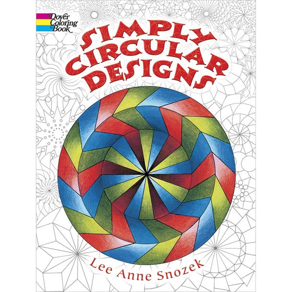 Dover Publications-Simply Circular Designs Coloring Book