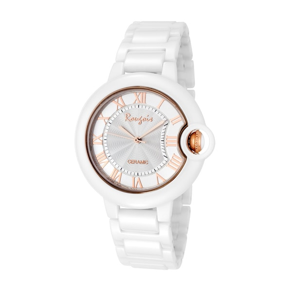 Rougois Women's Cloud Series Rose Gold Cumulus Large Face Watch