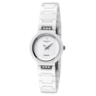 Cirros Milan Luxury Women's White Ceramic Watch