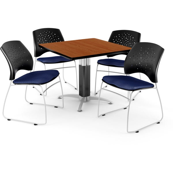 OFM Square Table with 4 Chairs