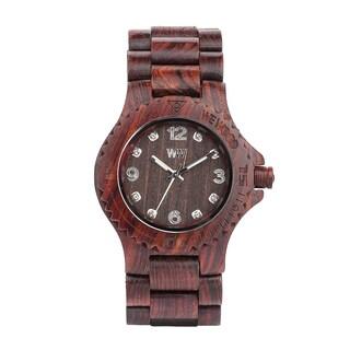 WeWOOD Deneb Chocolate Watch