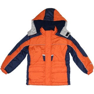 Northpoint Toddler Boys Orange Parka