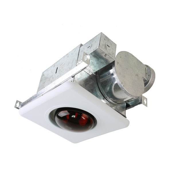 Ceiling Mount Bath Fan with Heat Light
