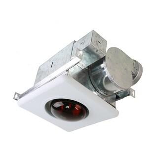 Ceiling Mount Bath Fan with Heat Light