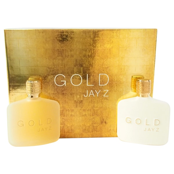 Jay Z Gold Jay Z Men's 2-piece Fragrance Set