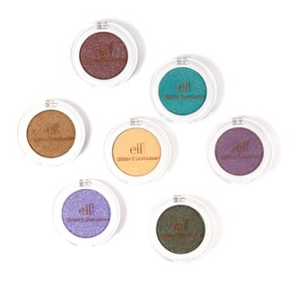 e.l.f. Glitter Eyeshadow Collection 7-piece Set