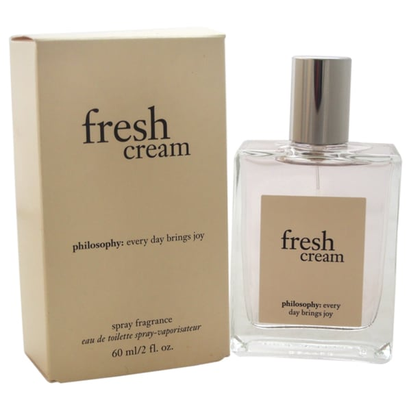Philosophy Fresh Cream Women's 2-ounce Eau de Toilette Spray
