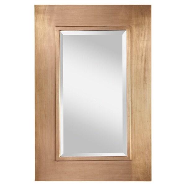 Silver Leaf Patina Mirror