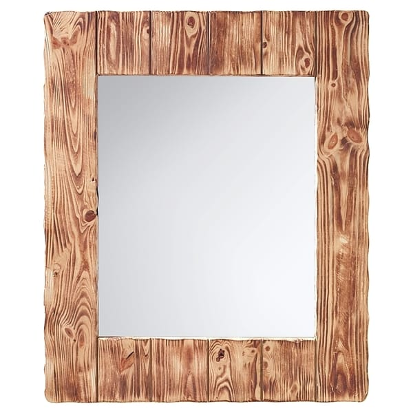 Montana - Smoked Wood Mirror