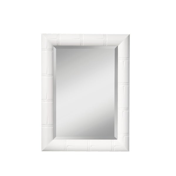 White Hi Gloss Mirror