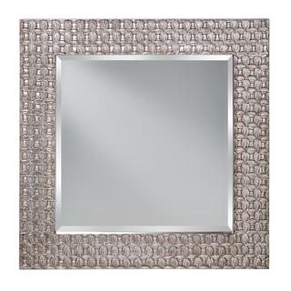 Leaf Antique Silver Mirror