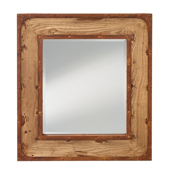 Natural Oak Mirror