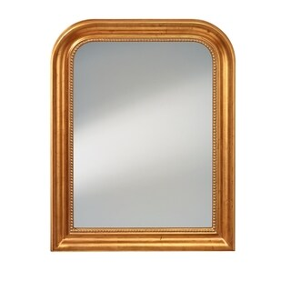 Distressed Gold Leaf Mirror