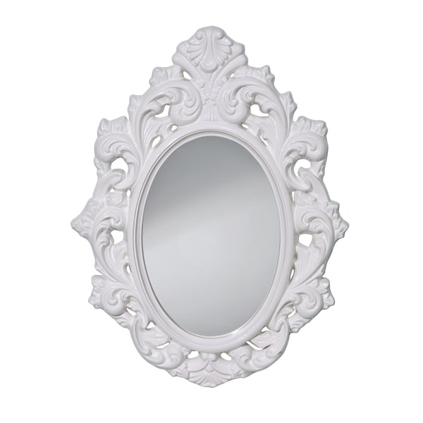 Hi Gloss White Mirror