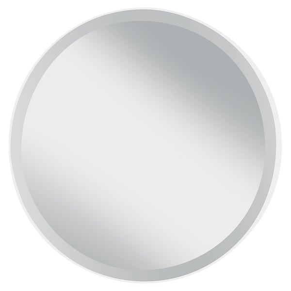 White Matte Wall Mirror