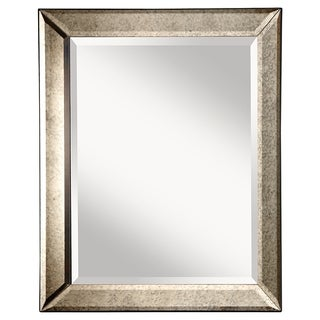 Uttermost jansen antique silver framed mirror 14072945 for Silver framed mirrors on sale