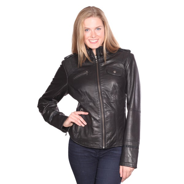 Italian Lambskin Leather Scuba Jacket